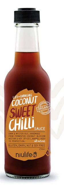 Coconut Amino Sweet Chilli Sauce 250ml - Niulife