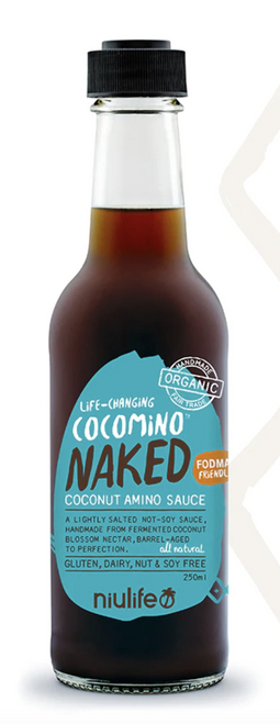 Coconut Amino Sauce Naked 250ml -Niulife
