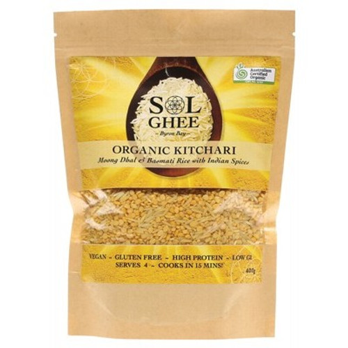Dhal Kitchari Mix 400g - Sol Organic