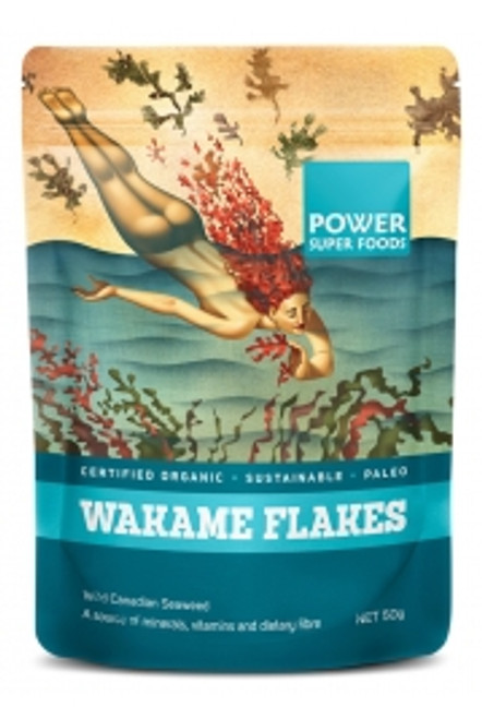 Wakame Flakes 50g - Power Super Foods