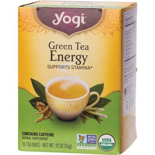 Green Tea Energy 16 Bags - Yogi Tea