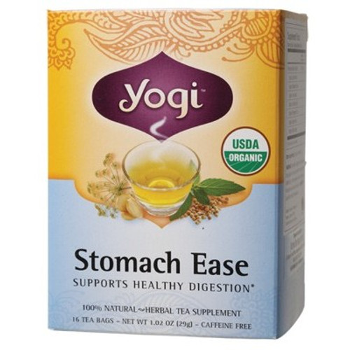 Stomach Ease 16 Bags - Yogi Tea