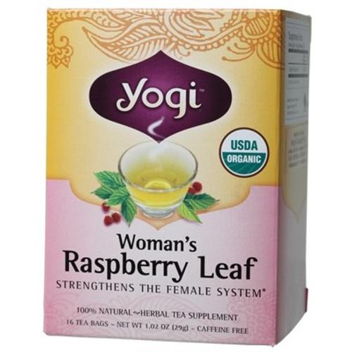 Woman's Raspberry Leaf Tea 16 Bags - Yogi Tea