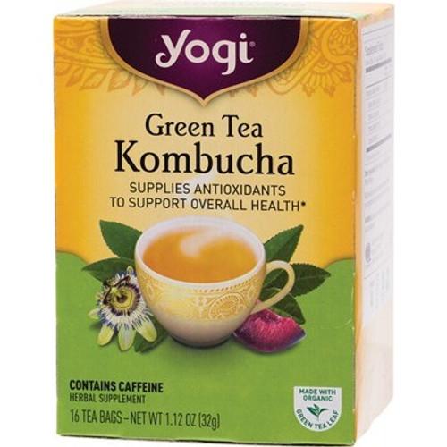 Green Tea Kombucha 16 Bags - Yogi Tea