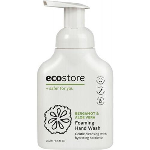 Hand Wash Foaming Bergamont & Aloe Vera 250ml - Ecostore