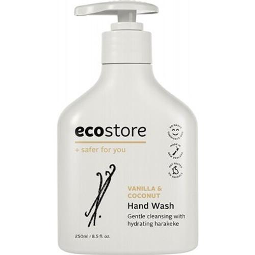 Hand Wash Vanilla & Coconut 250ml - Ecostore