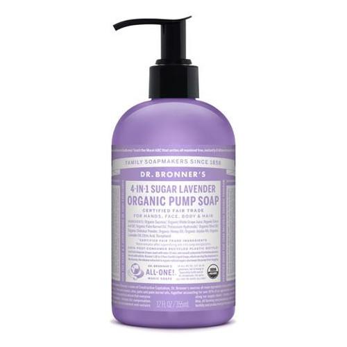 Lavender Pure Castile Hemp Soap 710ml - Dr Bronner