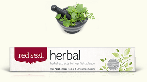 Toothpaste Herbal Fresh 110g - Red Seal
