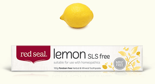 Toothpaste Lemon Fresh 100g - Red Seal