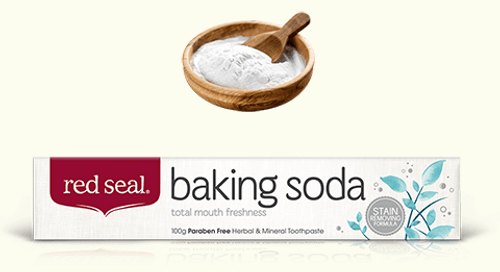 Toothpaste Baking Soda 100g - Red Seal