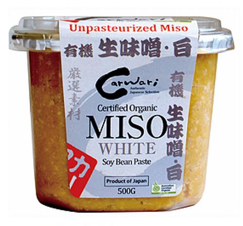 Miso White Organic 500g - Carwari