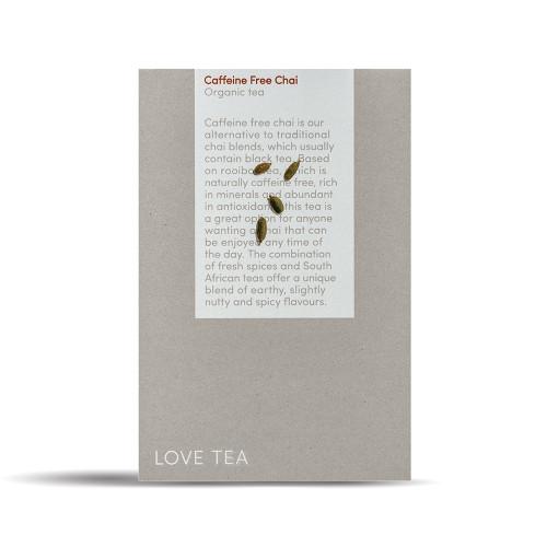 Chai Caffeine Free Tea Loose Leaf  Organic 500g - Love Tea ORDER ONLY