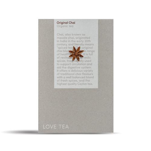 Chai Original Tea Loose Leaf  Organic 500g - Love Tea ORDER ONLY