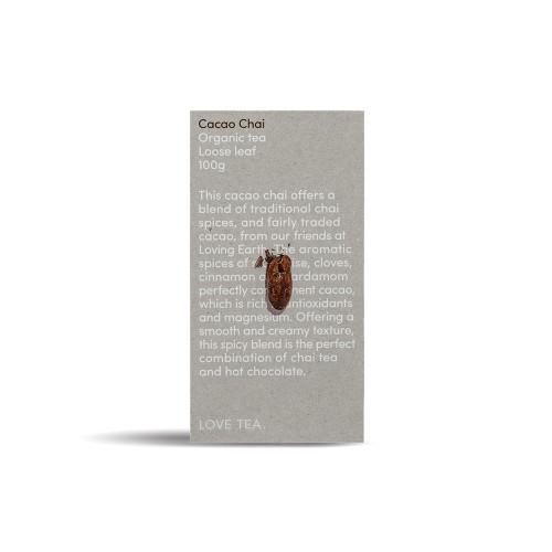 Chai Cacao Tea Loose Leaf Organic 100g - Love Tea