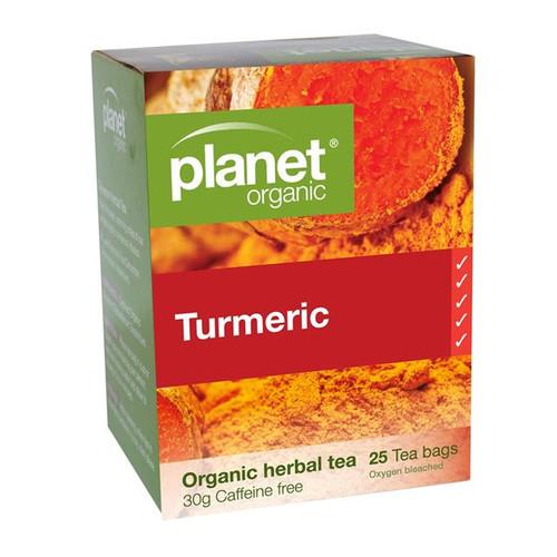 Turmeric Tea 25 Bags - Planet Organic