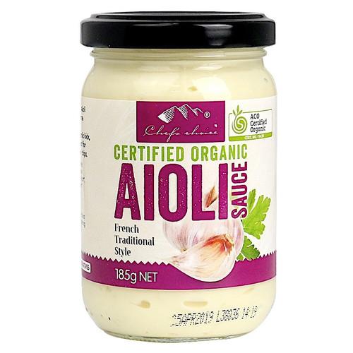 Aioli French Style Organic 185g - Chef's Choice