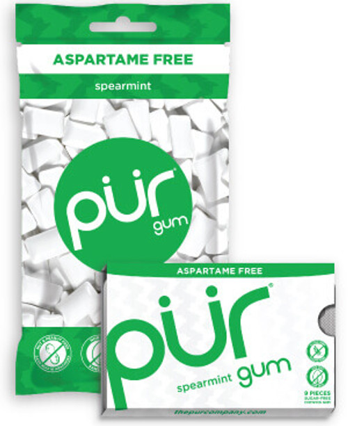 Chewing Gum Spearmint  12.6g - PUR
