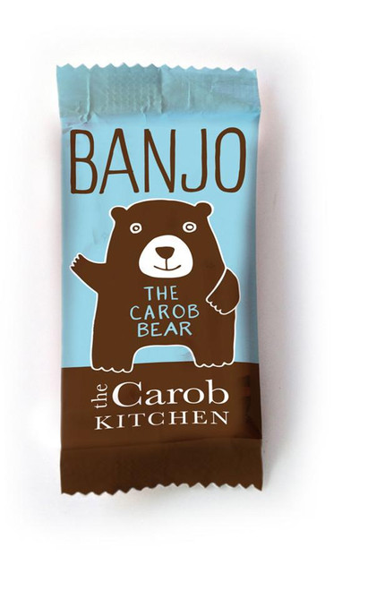 Carob Banjo Bear Original 15g - The Carob Kitchen