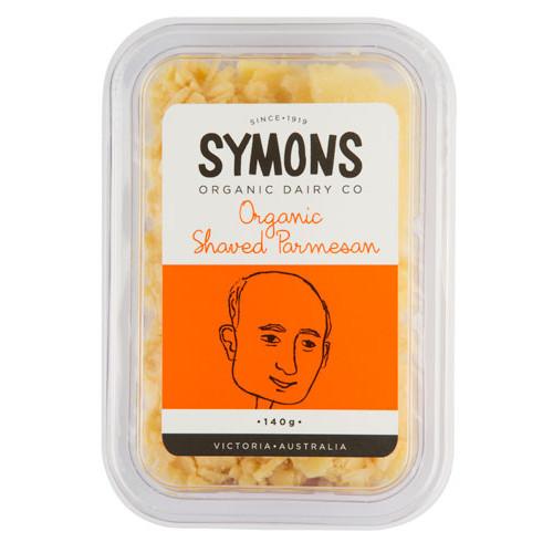 Parmesan Cheese Shaved Organic 140g - Symons