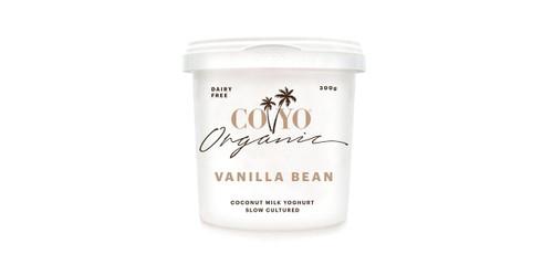 Coconut Yoghurt Vanilla Bean  Organic 300g- CoYo