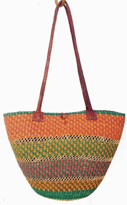 African Shoulder Bag - Coloured