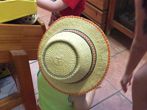 African Hat Bolga - Small Brim