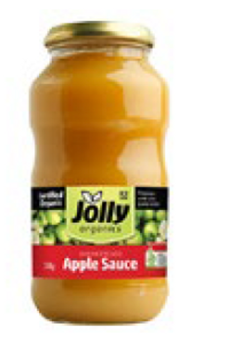 Apple Sauce 700g - Jolly Organics