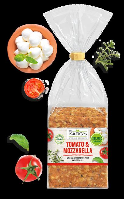 Tomato|Mozzarella Crispbread 200g - Dr Kargs