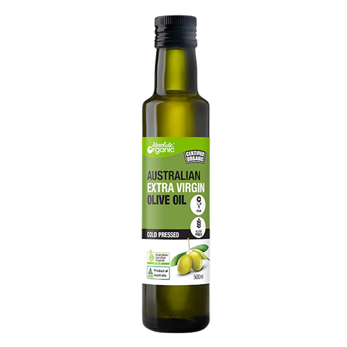 Olive Oil Extra Virgin Organic 500ml - Absolute Organic