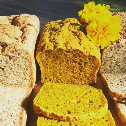Paleo Turmeric & Gingerbread Loaf Gluten Free Organic - Almond Rd *Pre-order to ensure Supply