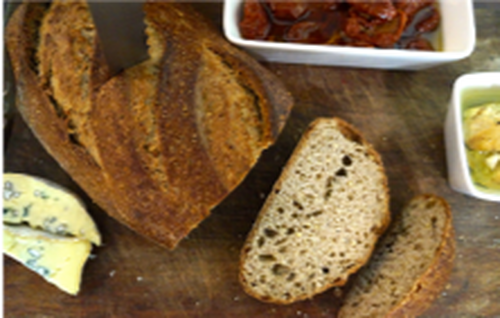 Quinoa Dark Sour Loaf - Sol Organic Bakery *Pre-order to ensure Supply