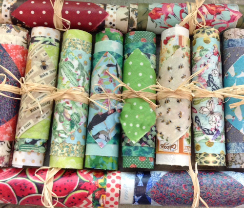 Beeswax Wraps Roll of 4 - Rustic