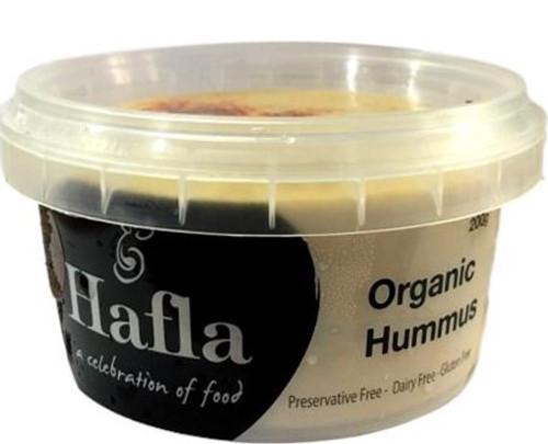 Hummus Organic 200g - Hafla Gourmet