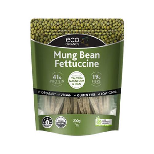 Mung Bean Fettucine Organic 200g - Eco Organics