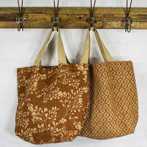 Grocer Bag Mixed Designs - Apple Green Duck