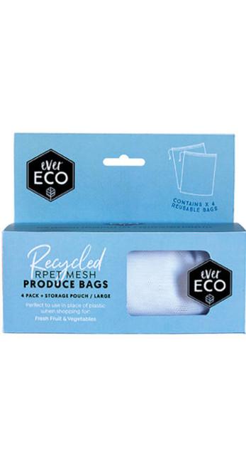 Produce Bags Reusable 4pk - Ever Eco