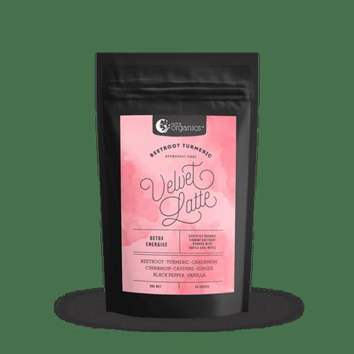 Velvet Latte (Beetroot & Turmeric) Organic 90g - Nutra Organics