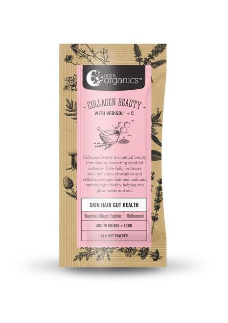 Collagen Beauty with Verisol + C 12g Sachet - Nutra Organics