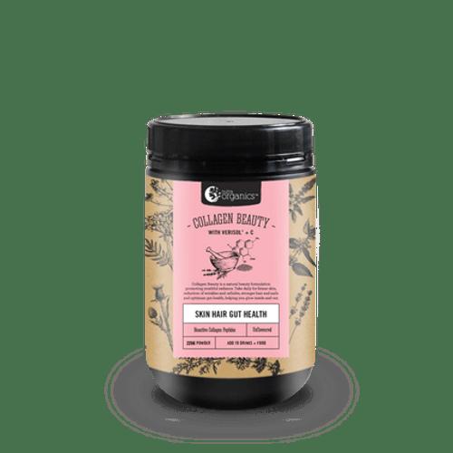 Collagen Beauty + Verisol & Vit C 225g Tub - Nutra Organics