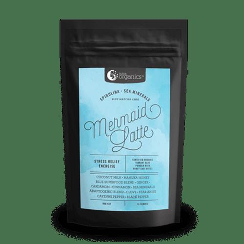 Mermaid Latte (Spirulina & Sea Minerals) 90g - Nutra Organics