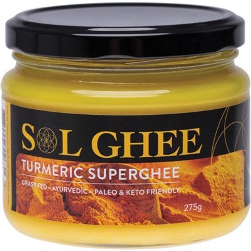 Ghee Turmeric Super Ghee 275g - Sol Organics