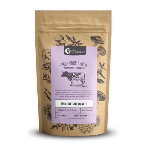 Beef Bone Broth Mushroom Organic 100g - Nutra Organics