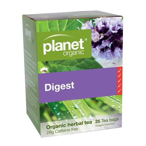 Digest Tea 25 Bags - Planet Organic
