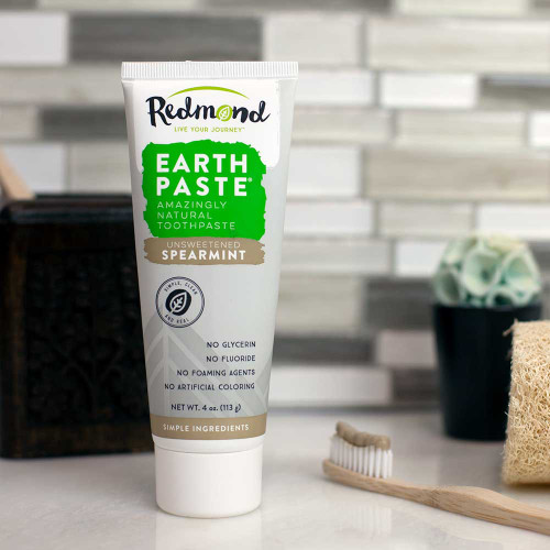 Toothpaste Spearmint 113g - Redmond Earthpaste