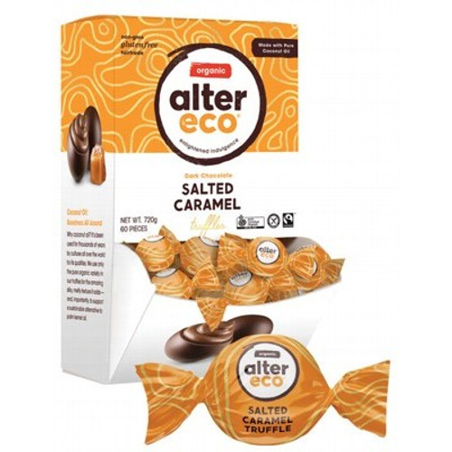 Truffles SINGLE Dark Salted Caramel Organic 12g - Alter Eco