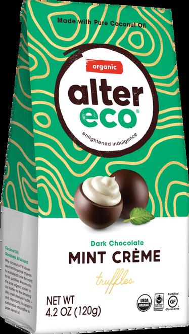 Truffles Dark Mint Creme Organic 108g- Alter Eco