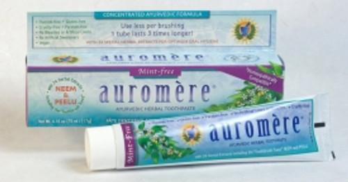 Toothpaste Ayurvedic Mint-Free 117g - Auromere