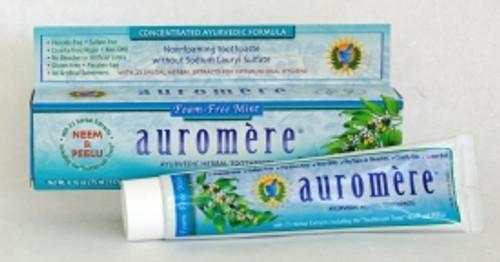 Toothpaste Ayurvedic Foam-Free Mint 117g - Auromere