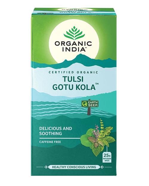 Tulsi Gotu Kola Organic 25 Bags - Organic India