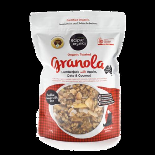 Muesli Probiotic Lumberjack Apple Date & Coconut Organic 410g - Eclipse Organics